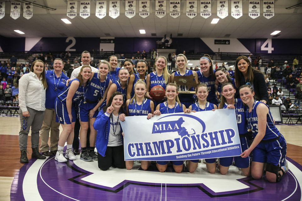 It was another banner season for the Braintree girls' basketball program. The Wamps won their fourth MIAA Division 1 title in six seasons with a 71-50 win over Springfield Central.