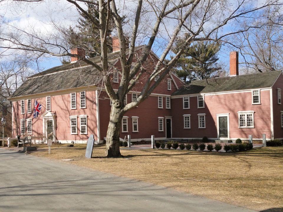 Wayside Inn: Serving travelers since 1716 in Sudbury, the inn inspired Longfellow.