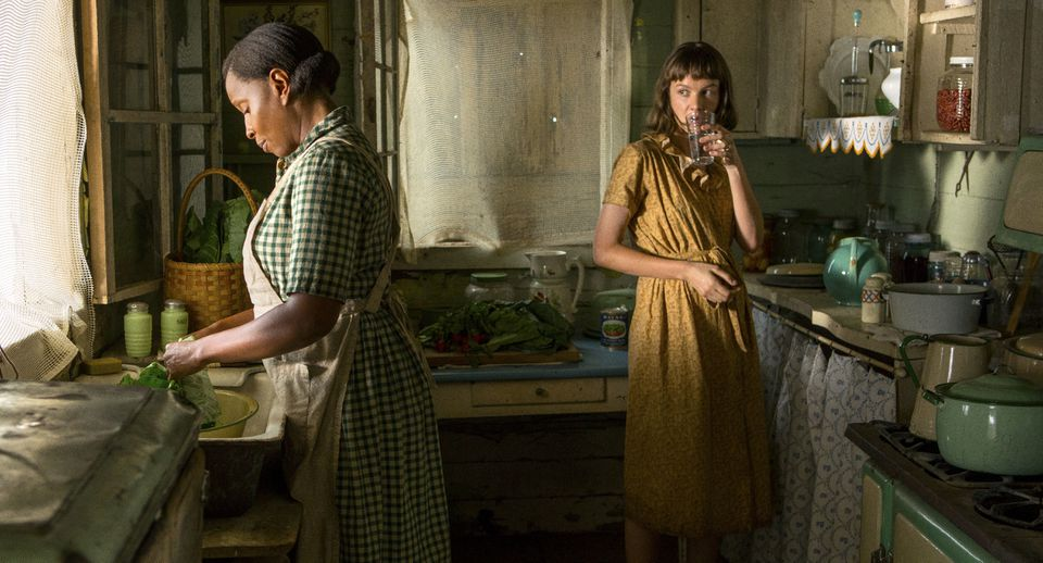 "Mary J. Blige (left) and Carey Mulligan in ""Mudbound."""