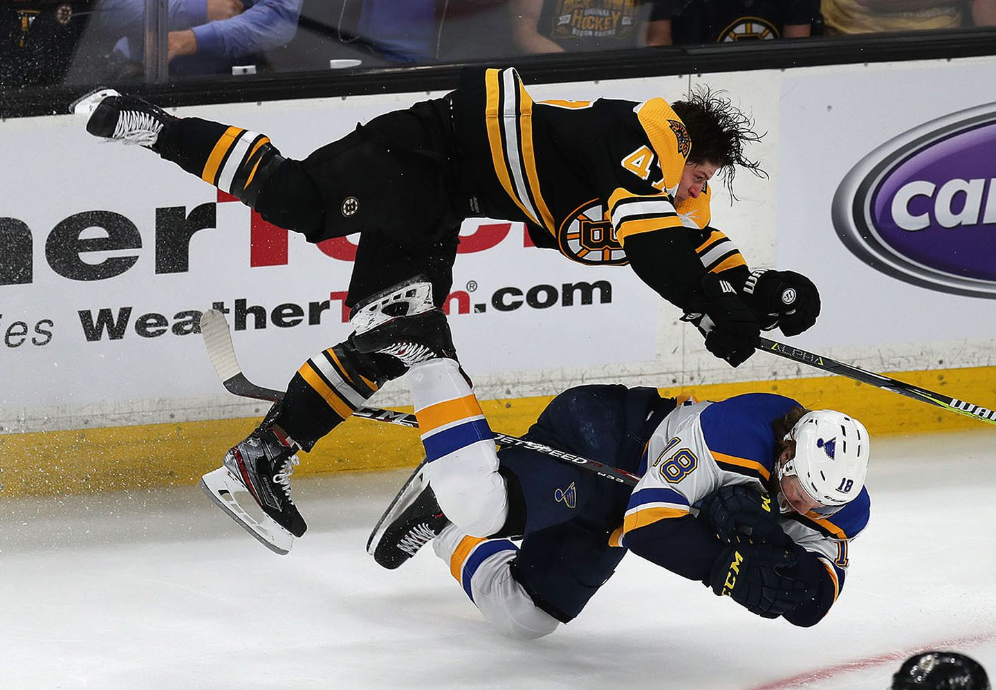 Should Torey Krug be subject to discipline for that hit? - The ...