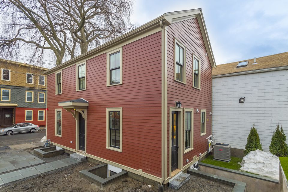 This house at 308 Hurley Street in Cambridge was listed for $1,695,000.