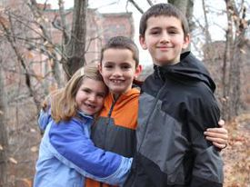 Jane, Martin, and Henry in 2012. The Richards were a family in constant motion, a whirlwind of pickups and drop-offs, sleepovers and birthday parties, homework, community projects, coaching, and church.