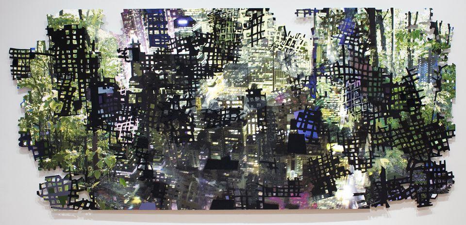 """Forestrocity"" by Sandy Litchfield."