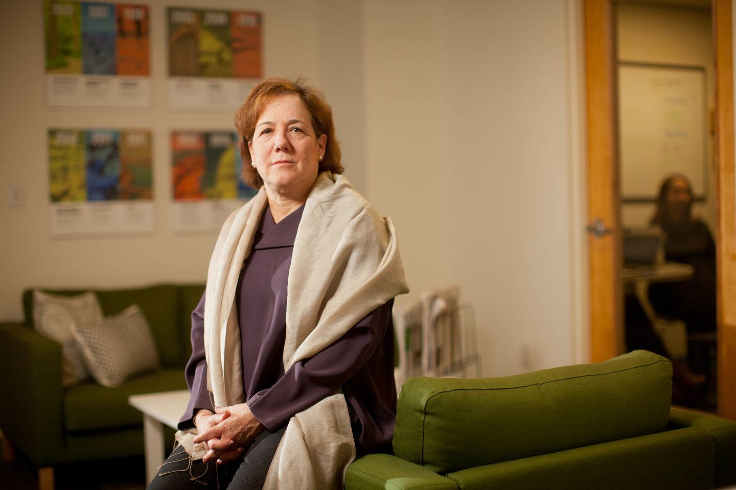 Ceres chief executive Mindy Lubber was cited for the work she did to catalyze business support for the carbon emissions accord known as the Paris Agreement.