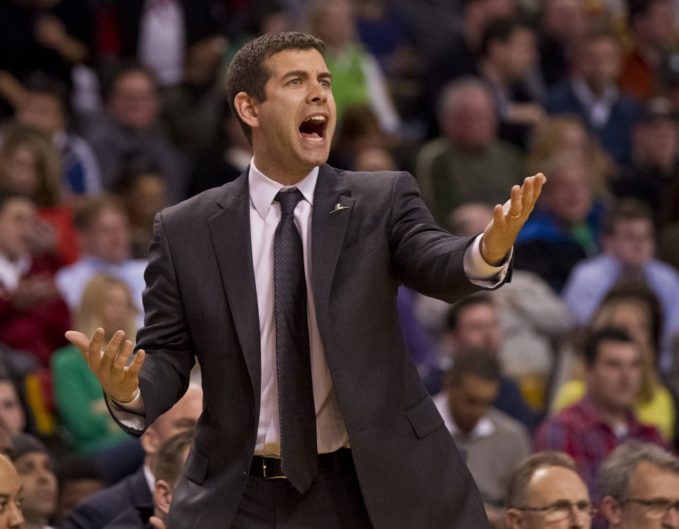 """Brad Stevens said he rarely yells at players. But if it happens, he said, """"I hope that they say I never demean them."""""""