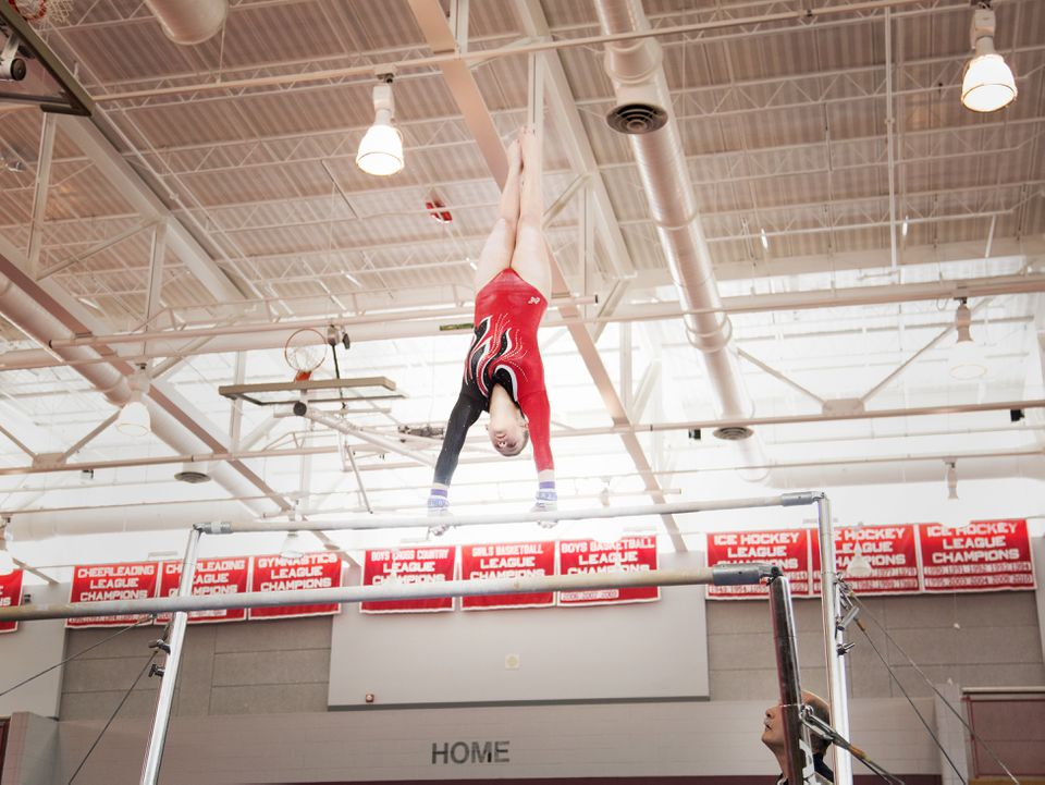 Barnstable's Tali Twomey finished second in the all-around at state.