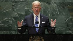 President Biden addresses the UN General Assembly on Tuesday.