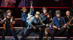Zac Brown Band performs at Fenway Park September 1, 2019.