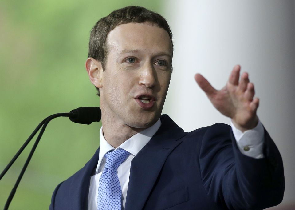 Facebook chief executive Mark Zuckerberg delivered the commencement address at Harvard last year.