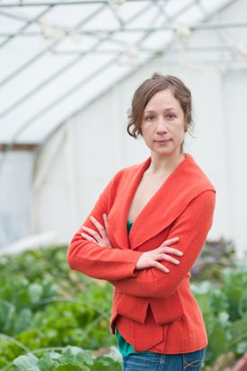 "Lauren Mandel, author of ""Eat Up: The Inside Scoop on Rooftop Agriculture."""
