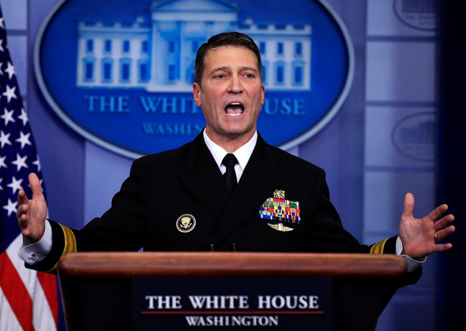 White House physician Dr. Ronny Jackson has been nominated to head the Veterans Administration.