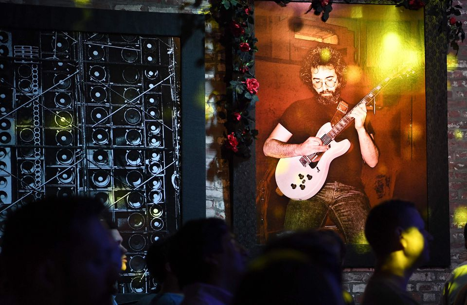 """Jerry Garcia debuted the guitar at a 1973 performance in front of the Hell's Angels, and he played it at so many concerts that his """"Wolf"""" guitar became nearly as recognizable among Dead Heads as the Grateful Dead frontman himself."""