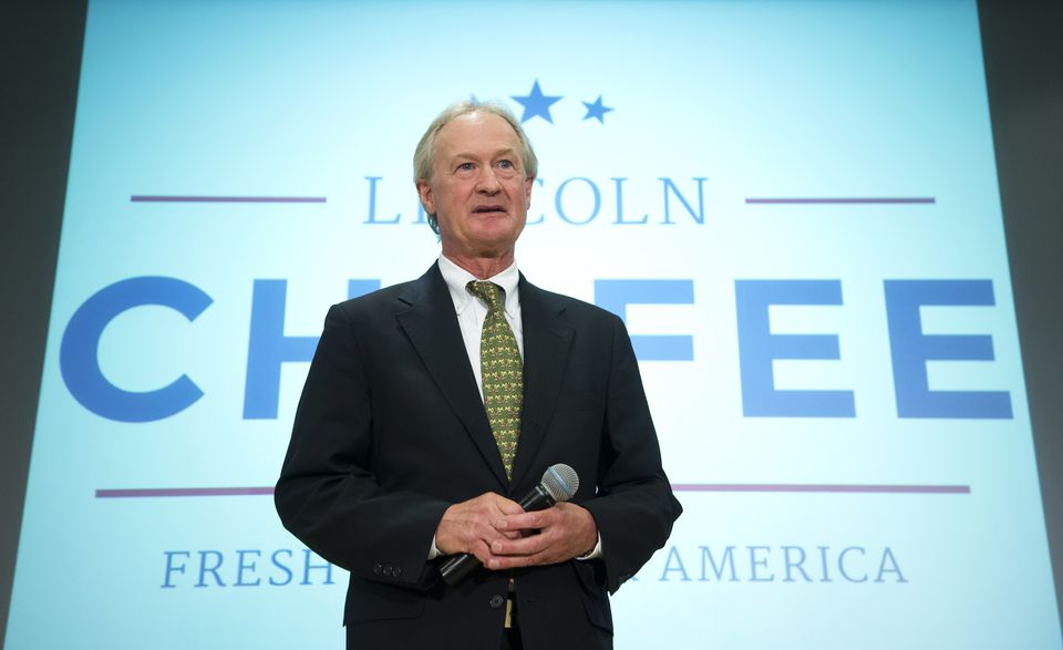 Former Rhode Island Governor Lincoln Chafee is running for president.