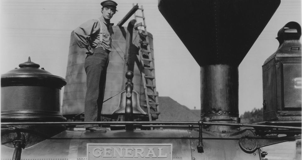 """The Great Buster: A Celebration"" looks at Buster Keaton in ""The General"" and other films."