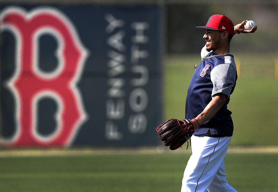 The Red Sox will have to throw a lot of money at Mookie Betts to keep him.
