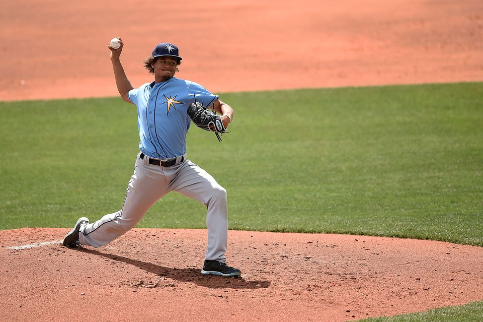 Chris Archer is slated to the be Rays' starter on Opening Day.