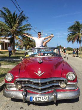 Tim Kelleher in Cuba.