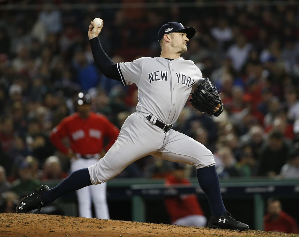 The Red Sox have been linked to free agent relief pitcher David Robertson.
