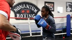 Rashida Ellis of Lynn, Mass., is a top contender in her division of women's boxing at the Tokyo Games.