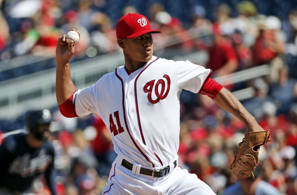 Righthander Joe Ross was 5-5 in 13 starts last season for the Nationals.