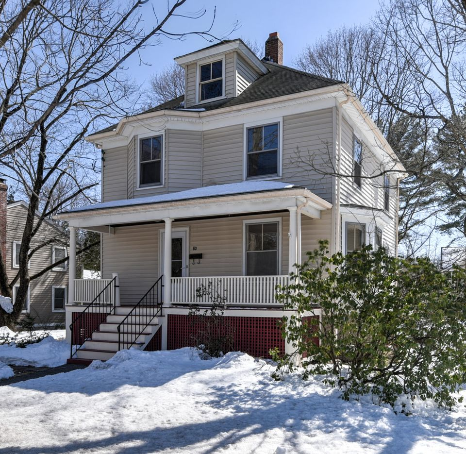 This house at 80 Spring Road in Needham was listed for $800,000.