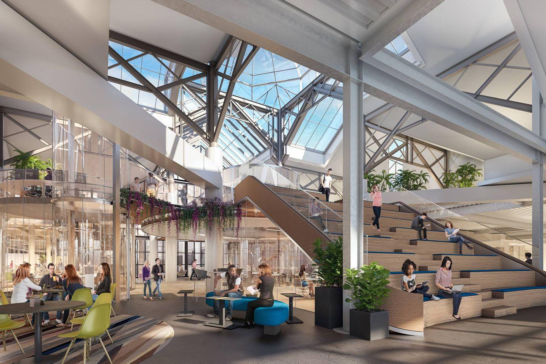 CambridgeSide mall's third floor will