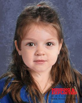 A computer-generated composite image depicted the little girl whose body was found on Deer Island last week as she may have appeared in life.
