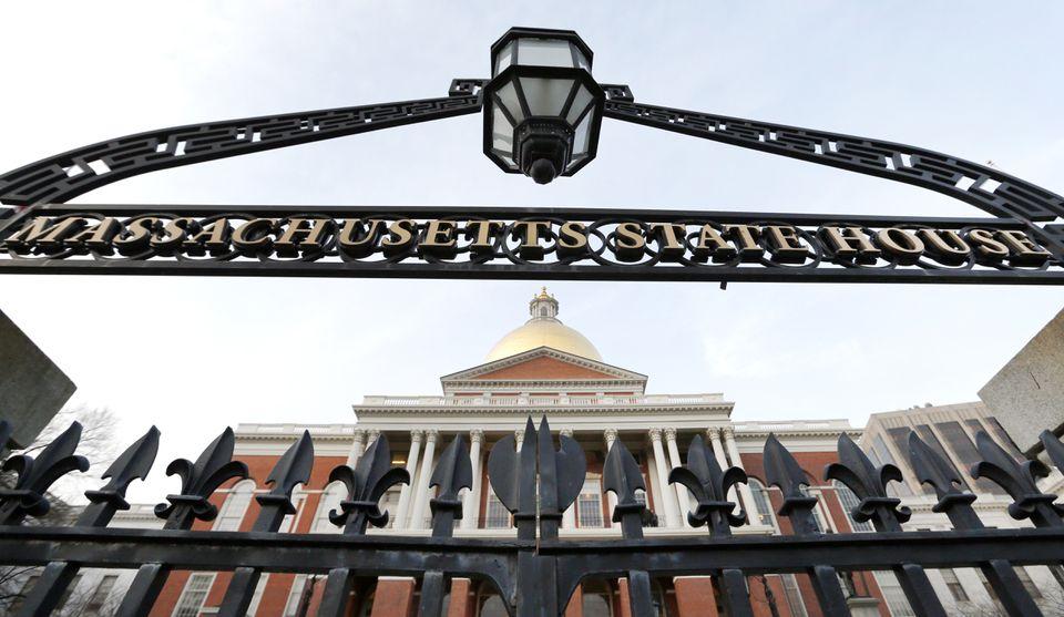 The Massachusetts Statehouse.