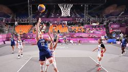 The Olympics added three-on-three basketball, skateboarding, surfing, karate and climbing to the Tokyo Games.