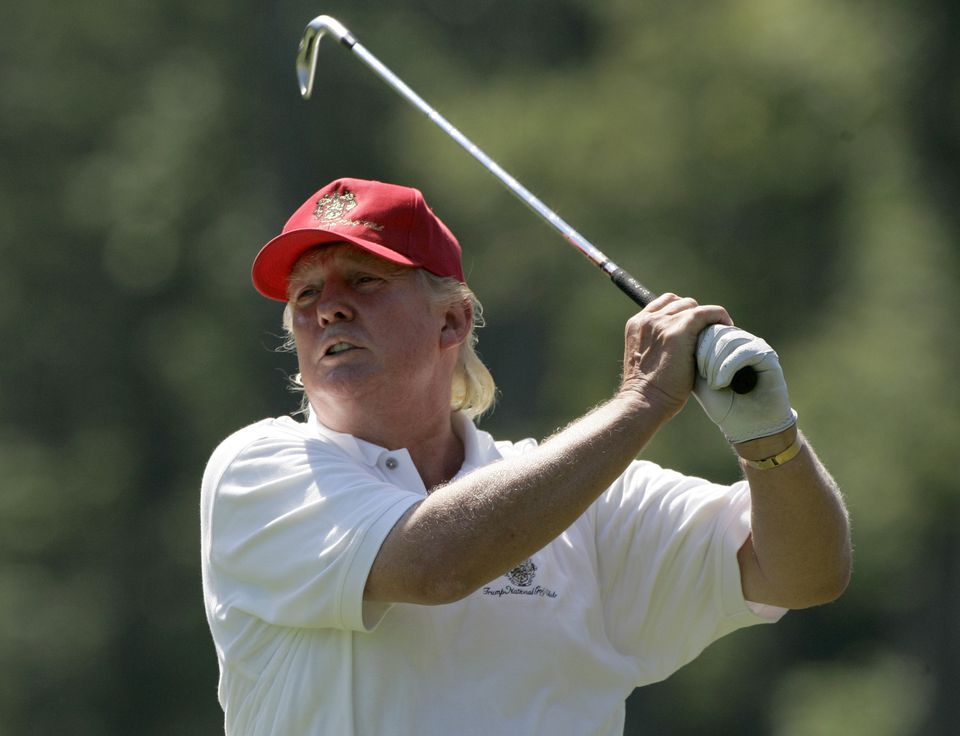 Donald Trump, who played in the pro-am tournament at the 2007 Deutsche Bank Championship at TPC Boston in Norton, has a handicap index of 3.0, according to the GHIN website.