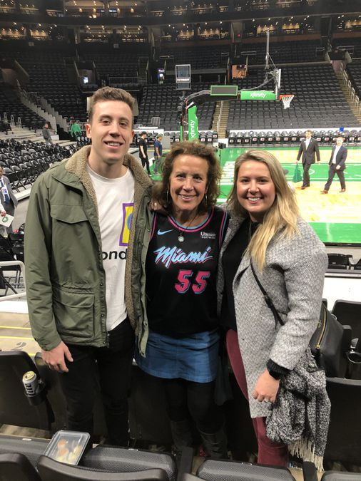 Duncan Robinson Took An Unlikely Path From Small Town New Hampshire To Nba Starter The Boston Globe