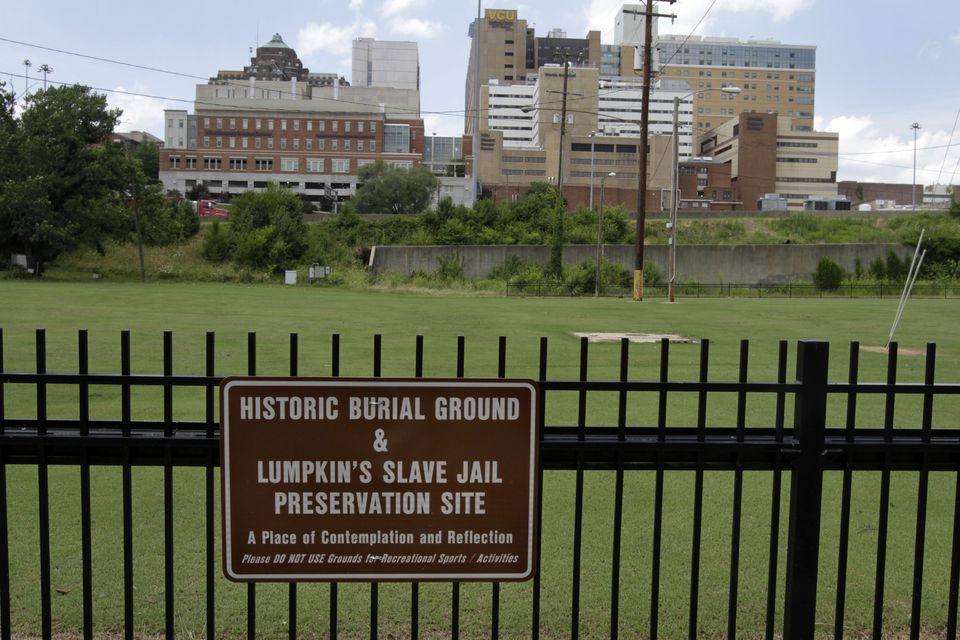 Lumpkin's slave jail preservation site.