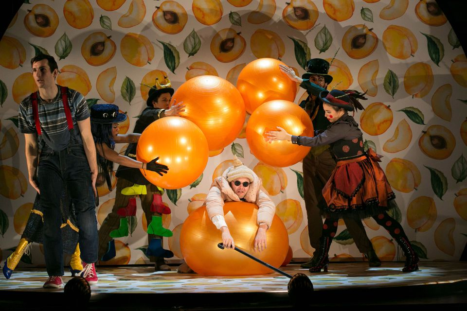 """The ART Institute at Harvard University recently presented a production of """"James and the Giant Peach."""""""