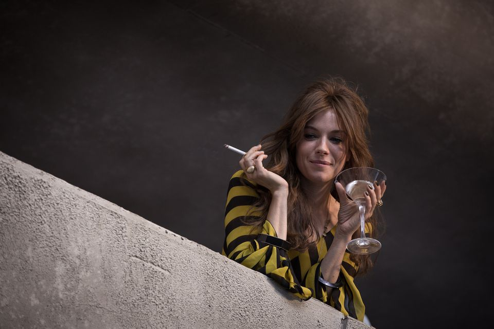 """From top: Sienna Miller in """"High-Rise."""""""