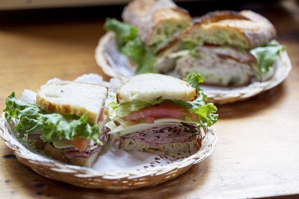 Sandwiches at Darwin's Ltd.