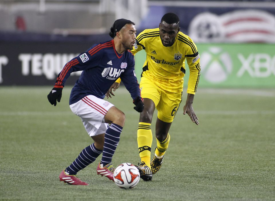Revolution midfielder Lee Nguyen scored 18 goals in the regular season and has added two in the playoffs.