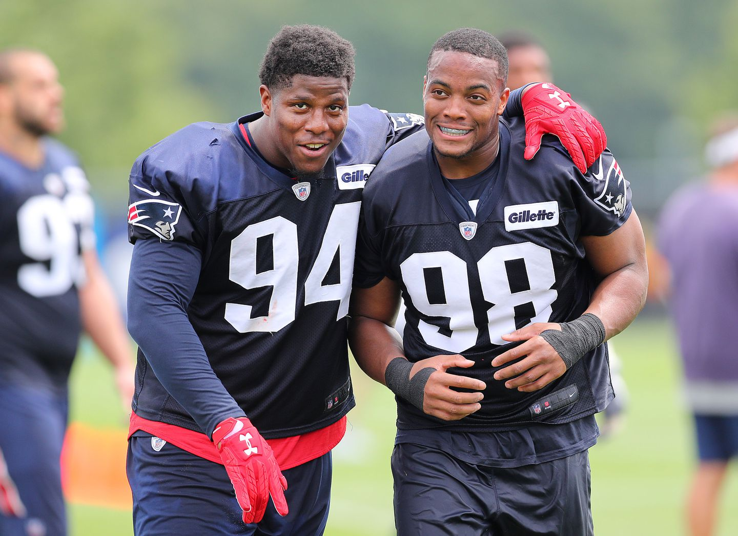 Patriots' Kony Ealy gets to work after missing first day - The ...