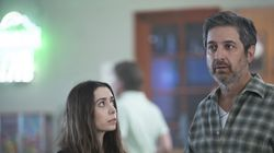"""Cristin Milioti and Ray Romano in """"Made for Love."""""""