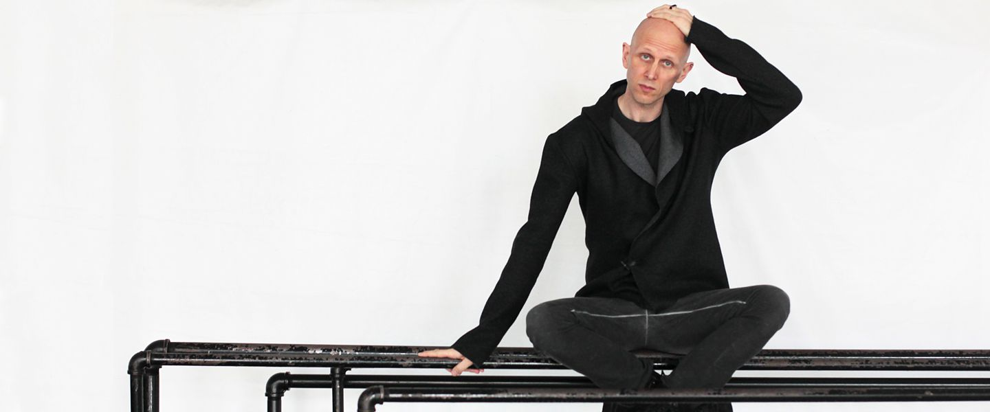 "Wayne McGregor, resident choregrapher of London's Royal Ballet. His ballet ""Obsidian Tear"" gets its North American premiere with Boston Ballet Nov. 3-12"