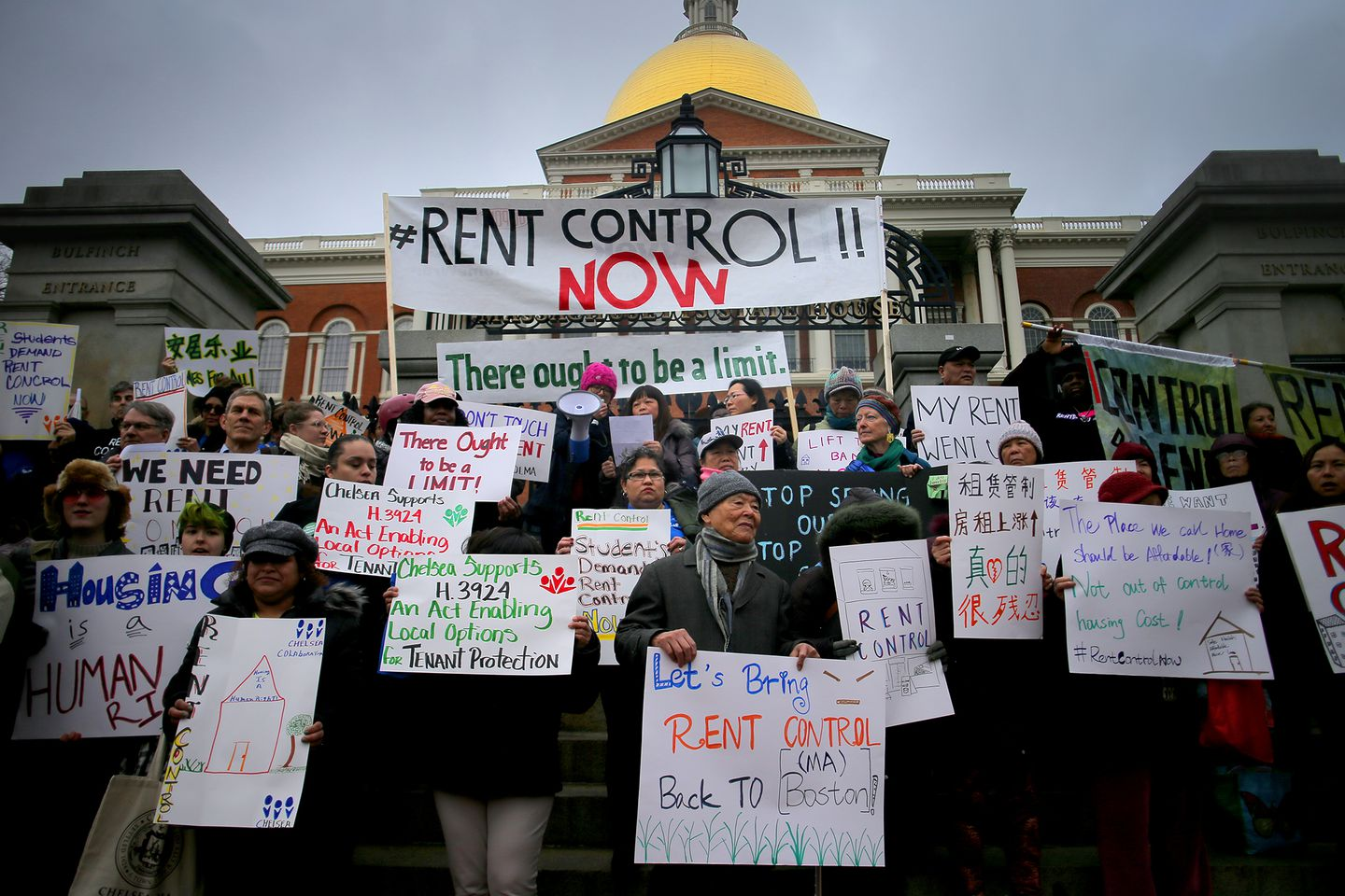 Bill To Allow Rent Control In Mass Takes A Step Forward On Beacon Hill The Boston Globe