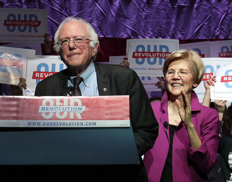 Two New England lawmakers — Bernie Sanders and Elizabeth Warren — are seeking the Democratic nomination in 2020.