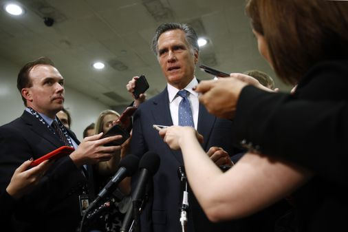 Is Mitt Romney ready to lead the Republican charge against Trump? - The Boston Globe