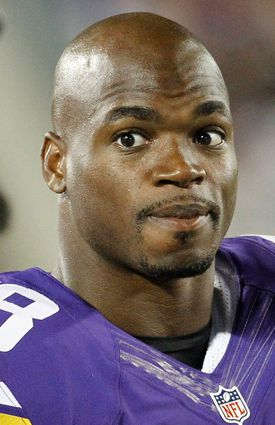"""Adrian Peterson was indicted by a grand jury in Texas after he used a """"switch"""" to beat his 4-year-old son."""