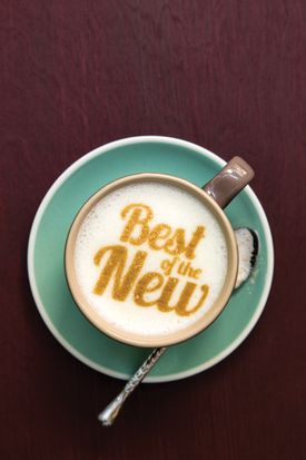 A 3-D printed latte at Best of the New winner Milk Street Cafe.