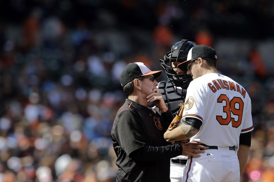 Dave Wallace is now the Orioles' pitching coach. He also was pitching coach for the Dodgers, Red Sox, and Astros.