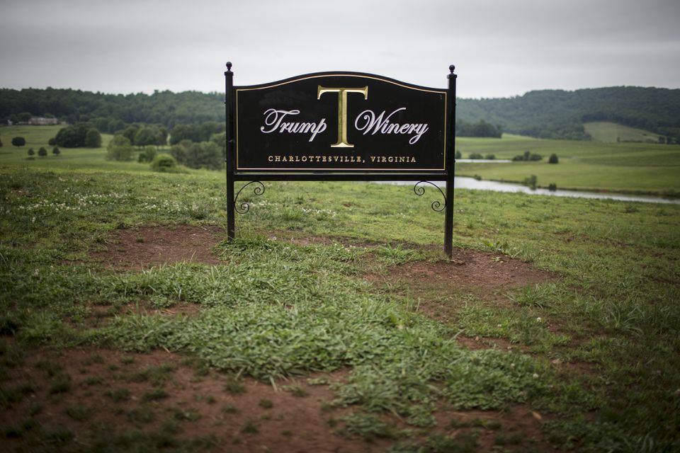 Trump Winery is located outside of Charlottesville, Va.