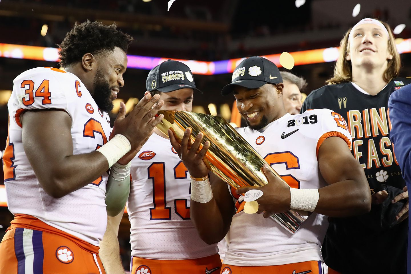 Clemson Overwhelms Alabama To Claim Second National Title In