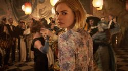 """Lily James (pictured in the film """"Rebecca"""") will portray Pam Anderson in """"Pam and Tommy."""""""