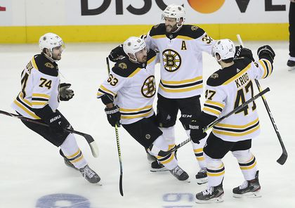 pretty nice a3926 3c448 Bruins silence cannon, take Game 4 to tie series vs ...