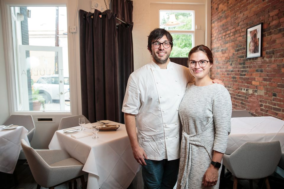 Talulla co-owners Conor Dennehy and Danielle Ayer